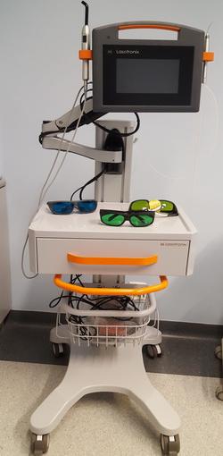 laserowe wydłużenie korony klinicznej zęba