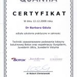 Stomatolog Barbara Gdula Botox